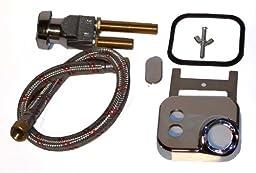 Vacuum Breaker for Shampoo Bowl Salon Use Complete Kit