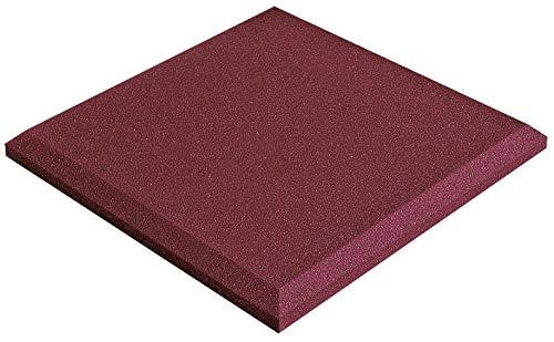 Auralex Acoustics Acoustical SonoFlat Wall Panels - 4 Pack, Burgundy (SONOFLATBUR_4PK)
