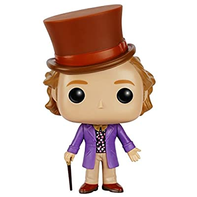 Funko Pop Movies: Willy Wonka-Willy Wonka Action Figure: Funko Pop! Movies:: Toys & Games