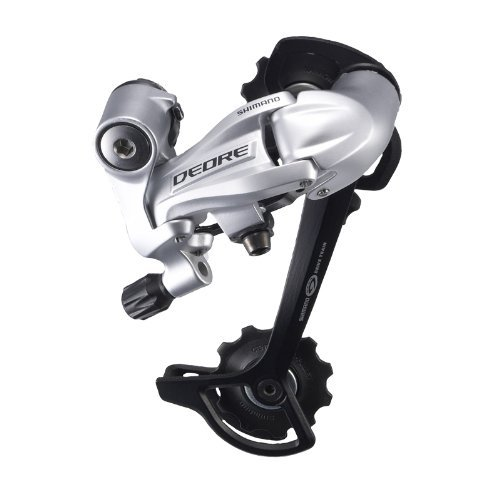 Normal Long Cage (Shimano RD-M591 Deore SGS Rear Derailleur (9-Speed, Long Cage, Silver))