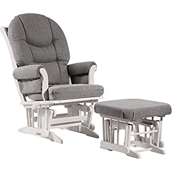Dutailier Sleigh Glider-Multi-Position Recline and Nursing Ottoman Combo White/Dark  sc 1 st  Amazon.com & Amazon.com: Dutailier Sleigh Glider-Multiposition Recline and ... islam-shia.org