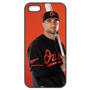 MLB iPhone 5,5S Black Baltimore Orioles cell phone cases&Gift Holiday&Christmas Gifts NADL7B8824050