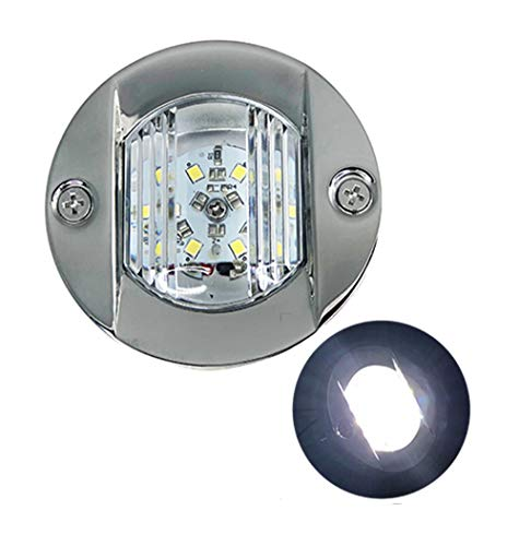 Stern Flush Light (Details about MARINE BOAT TRANSOM LED STERN LIGHT STAINLESS STEEL SPASHPROOF FLUSH MOUNT)
