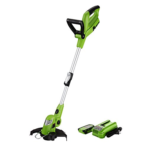Best Partner 10-Inch 18V Cordless String Trimmer/Edger,2.0AH Battery and Charger Included For Sale