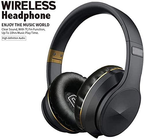 TYGYDLQ ノイズスポーツヘッドホン、ブルートゥース5.0ヘッドセット、ワイヤレスヘッドセット、重低音ヘッドフォン、Bluetoothヘッドセット、内蔵マイクヘッドセット (Color : C)