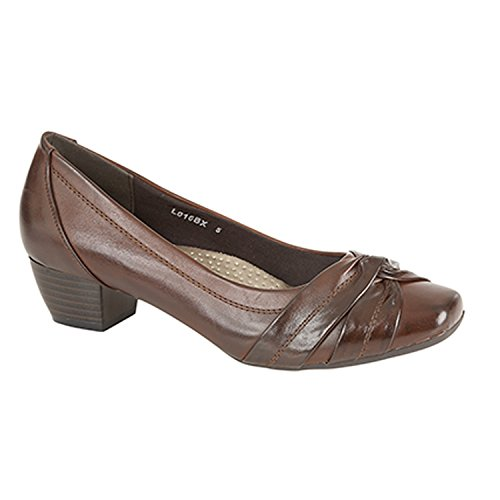 Crossover UK Shoes Sash 7 Comfort Brown Line Size Court Boulevard dxBazPdn