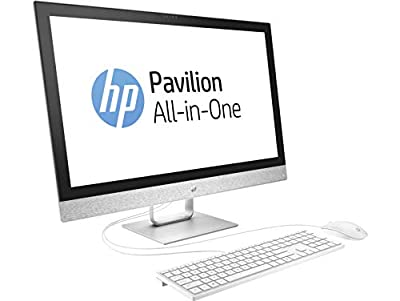 """HP Pavilion 27-r000 27-r055se All-in-One Computer - Intel Core i7 (7th Gen) i7-7700T 2.90 GHz - 16 GB DDR4 SDRAM - 2 TB HDD - 256 GB SSD - 27"""" 2560 x 1440 Touchscreen Display - Windows 10 Home -"""