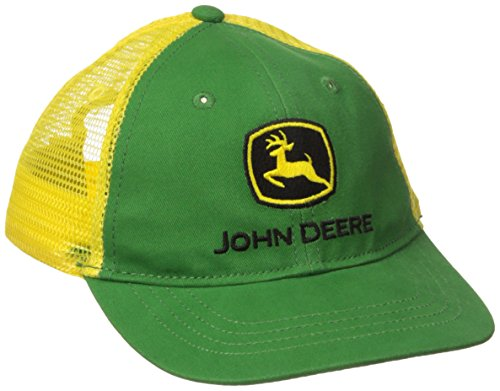 John Deere Toddler Boys' Trademark Trucker Ball Cap, Green, (Childs Ball Cap)