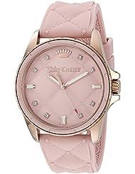 Juicy Couture Womens 1901371 Malibu Analog Display Japanese Quartz Pink Watch