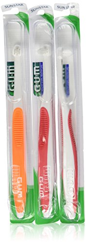 Trim Toothbrush (Pack of 3)Colors May Vary ()