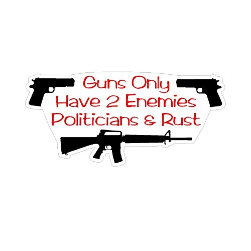 2nd Amendment 3Gun Home Security Anti Obama NRA Political window sticker decal