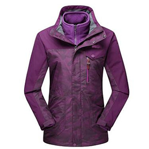 Uno Due Pezzi Hop In Purple Impermeabile Winter Spesso Hip Camouflage Tre Caldo Giacche Outdoors Pile Rxqww8Iz