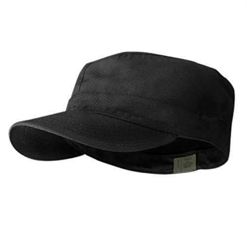 Distressed BDU Fitted Army Cadet Military Patrol Castro Cap Hat Combat Hunting