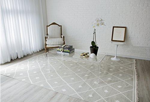 Erin Gates by Momeni Thompson Appleton Grey Hand Woven Wool Area Rug 5' X 7'6