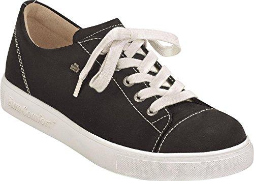 de Mujer Finn 02476046099 Zapatos Cordones Negro para Comfort CPCvqnYFt