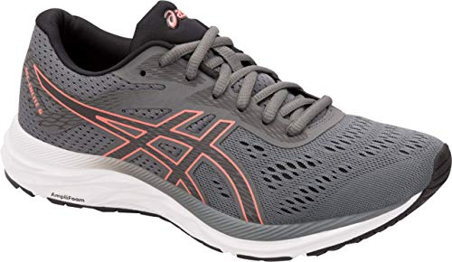 ASICS Gel-Excite 6 Women's Running Shoe, Steel Grey/Papaya, 11 B US