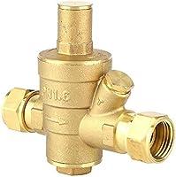 Válvula reductora de presión de agua, latón DN15 Válvula ...