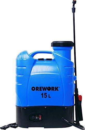 Pulverizador electrico con Lanza telescopico Orework 15 Lt: Amazon ...