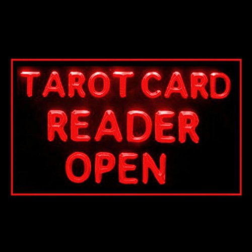 Price comparison product image 180087 Tarot Card Reander Open Crystal Ball Future Exact Science LED Light Sign