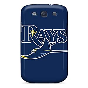 Special AaronCharming Skin Case Cover For Galaxy S3, Popular Baseball Tampa Bay Rays Phone Case