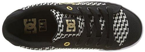 Bg3 Noir Basses Chelsea Femme Se Shoes TX DC Sneakers fA868x