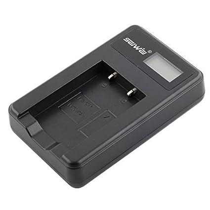 eDealMax SEIWEI LED autorizado pantalla de la cámara USB cargador de batería Para Olympus LI-