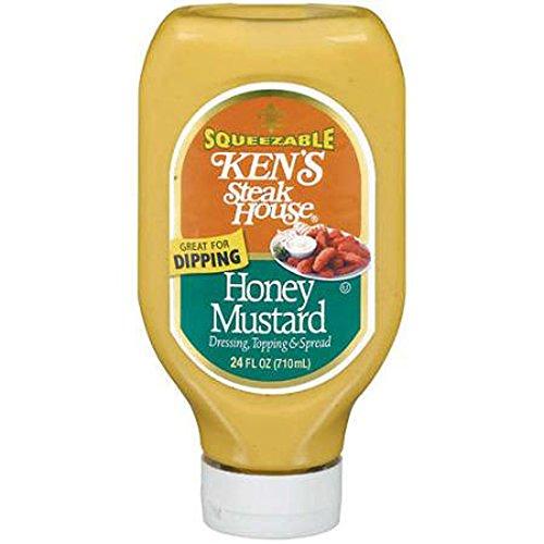 Ken's Steak House Dressing Topping & Spread Honey Mustard - 6 Pack
