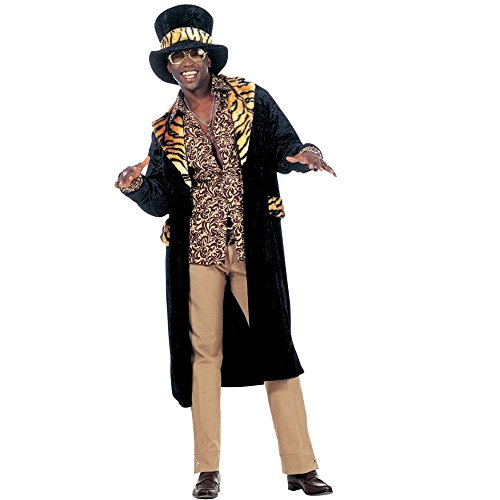 Daddy Costumes Velvet Big (Mens Big Daddy Velvet Costume Medium Uk 40/42