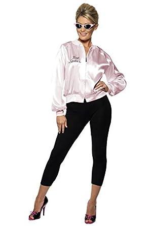 Grease Pink Ladies Jacket: Amazon.co.uk: Clothing