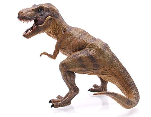 Langxun High Simulation Squat Tyrannosaurus Rex Toy (Rex Dinosaur)