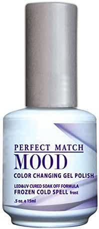 LECHAT Perfect Match Mood Gel Polish, Frozen Cold Spell, 0.500 Ounce by LECHAT