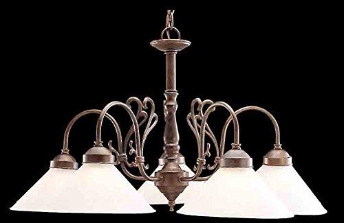 Biltmore Five Light - Classic Lighting 3055 EB-C Biltmore Chandelier