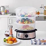 Aicok Food Steamer, 9.5 Quart Vegetable Steamer