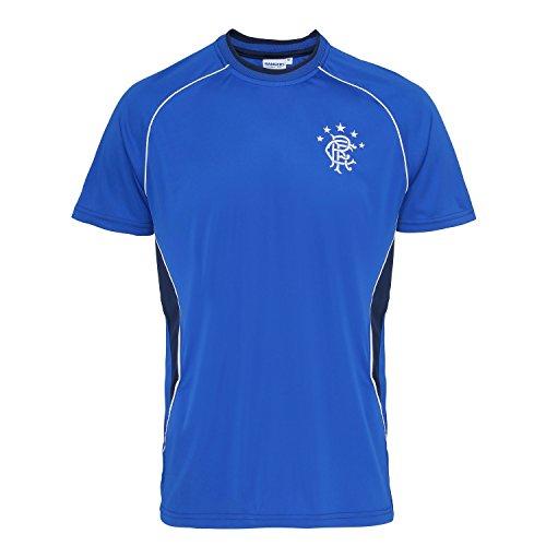 bcebb3213e1 Official Football Merchandise Rangers FC Adults Short Sleeve T-Shirt (L)  (Royal
