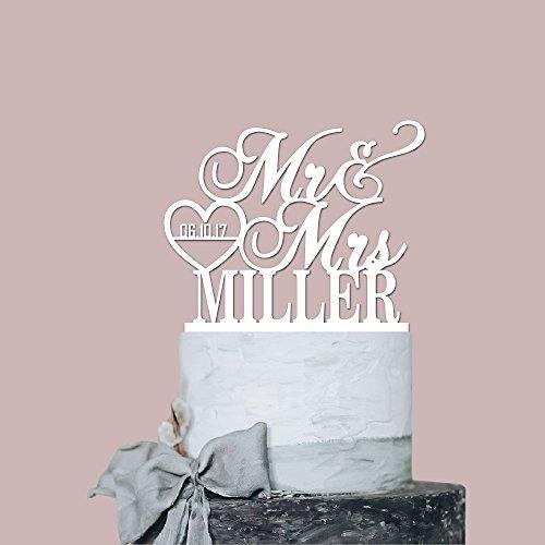 Lab Personalized Wedding Acrylic Decoration product image