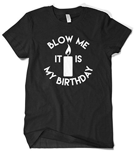 Cybertela Mens Birthday Funny T shirt