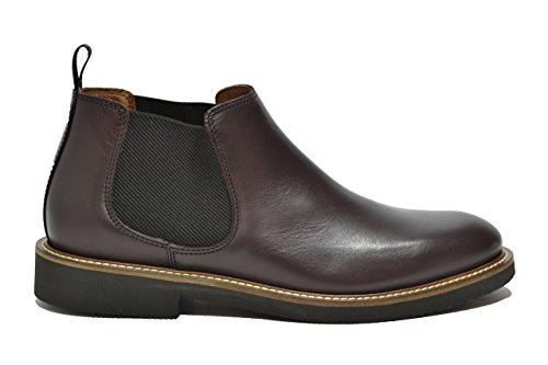 Frau Brown Polacchini scarpe uomo beatles brown 74P3 8ovrqH8w