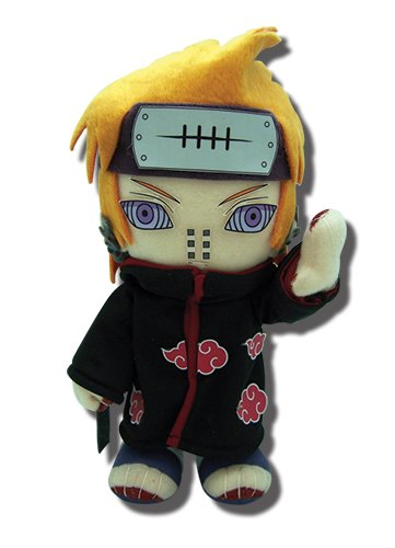 GE Animation 52728 Naruto Shippuden Pain Yahiko Stuffed Plush, 9""