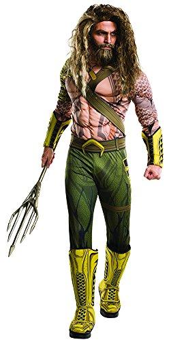 Rubie's Men's Batman v Superman: Dawn of Justice Aquaman Costume, X-Large, (Aquaman Adult Costume)