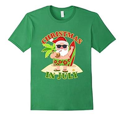 Christmas In July Funny Santa T-Shirt
