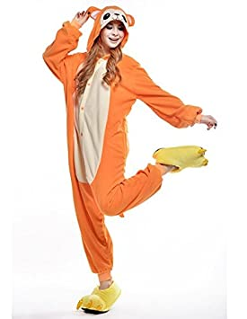 Ducomi Kigurumi Pajama Unisex Adulto Cosplay Disfraz Animal Pijamas (Mono, L)
