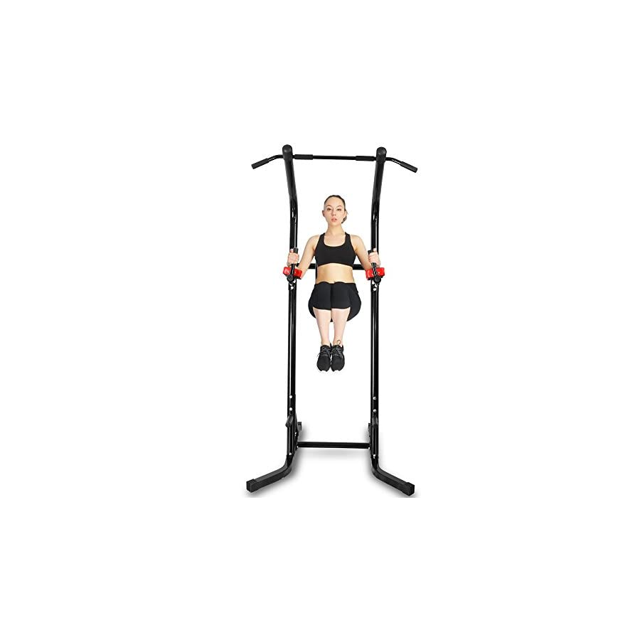 Ainfox Power Tower, Pull up Bar Fitness Power Tower/Multi Station for Home Office Gym Dip Stands