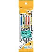 BIC Pencils Mechanical Pencils, Black, 0.5mm, 5-pack