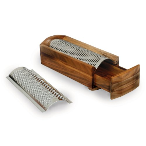 Enrico 1005 Acacia Wood Cheese Grater and Shredder