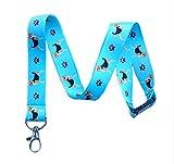 Beagle Dog Breed Print Break Away Lanyard Key Chain Id Badge Holder