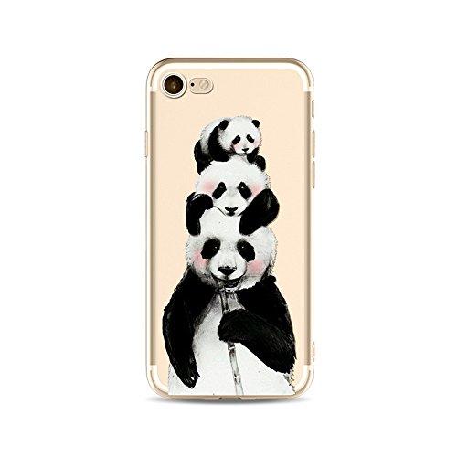 iPhone 6S Funda Silicona, BoomTeck Trasparente Protector Bumper Carcasa para 4.7 Apple iPhone 6 /iPhone 6S Delgado Sottile Goma Cristal Clear TPU Gel Cubierta Shock-Absorción Flessibile Patrón de art 18