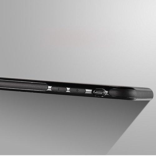 SULADA Phone Accessory TPU Mobile Tasche Hüllen Schutzhülle - Case für iPhone 7 4.7 inch Built-in Magnetic Holder Metal Sheet - schwarz