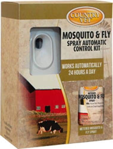 AMREP 009-321962CV Kit 074026 2 Piece Country Vet Equine Mosquito/Flying Insect Control, White by AMREP