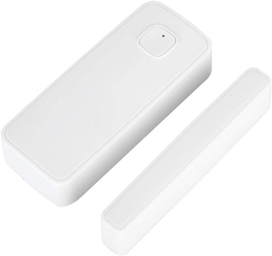 Sensores de Puertas y Ventanas Inal/ámbrico de Seguridad en el Hogar Compatible con Alexa y Google Home Wifi Sensor Inal/ámbrico Alarma de Seguridad de Puerta y Ventana