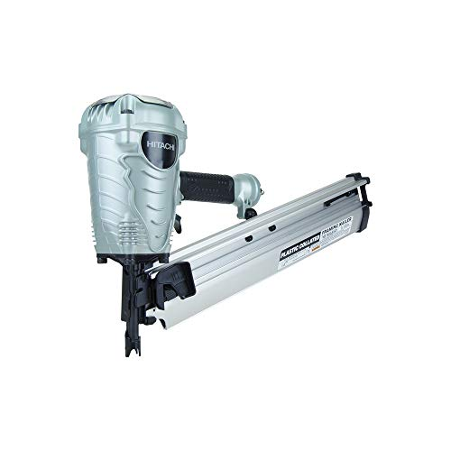 "Hitachi NR90AES1 2"" to 3-1/2"" Plastic Collated Framing Nailer"